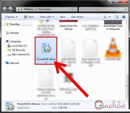 چگونه فایل bin را با نرم افزار Power ISO تبدیل کنیم