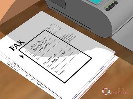 چگونه یک فکس ارسال کنیم