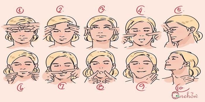 حرکات ورزشی لاغر کردن صورت