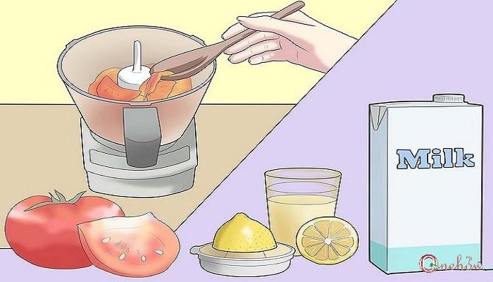چگونه پاک کننده صورت طبیعی درست کنیم