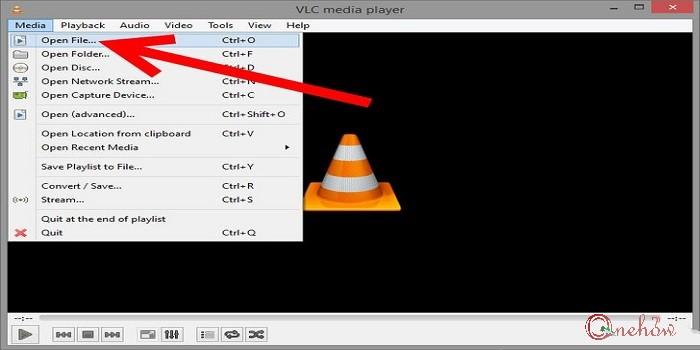 چرخاندن فیلم در VLC Player