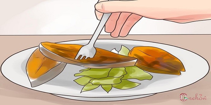 روش درست غذا خوردن