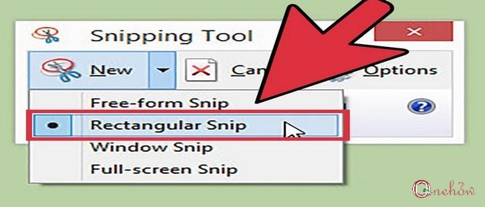 آموزش کار با Snipping Tool