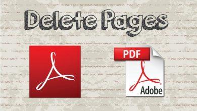 Photo of چگونه یک صفحه از pdf را حذف کنیم
